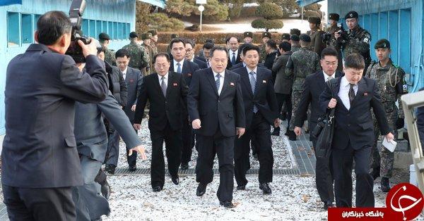 جزئیات جالب مذاکرات کره جنوبی و شمالی برای نخستین بار در بیش از دو سال+ تصاویر