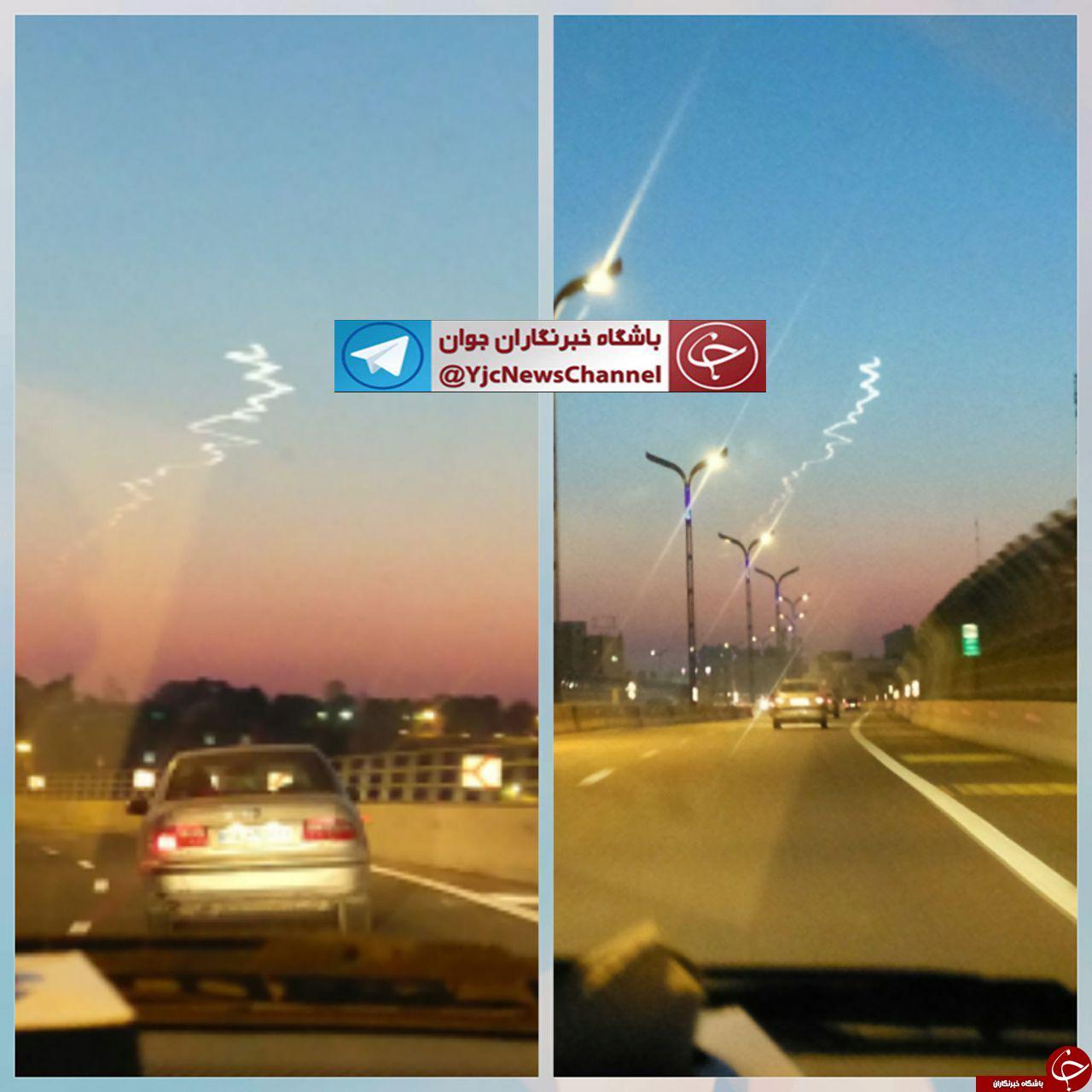 دود دیده شده در شهر تهران ناشی از تمرین تاکتیکی پرندههای بال ثابت و متغیر و پهپادهای هوا فضای سپاه بوده است