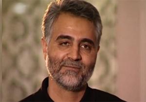 اشكهای سردار سلیمانی در فراق شهید احمد كاظمی + فیلم