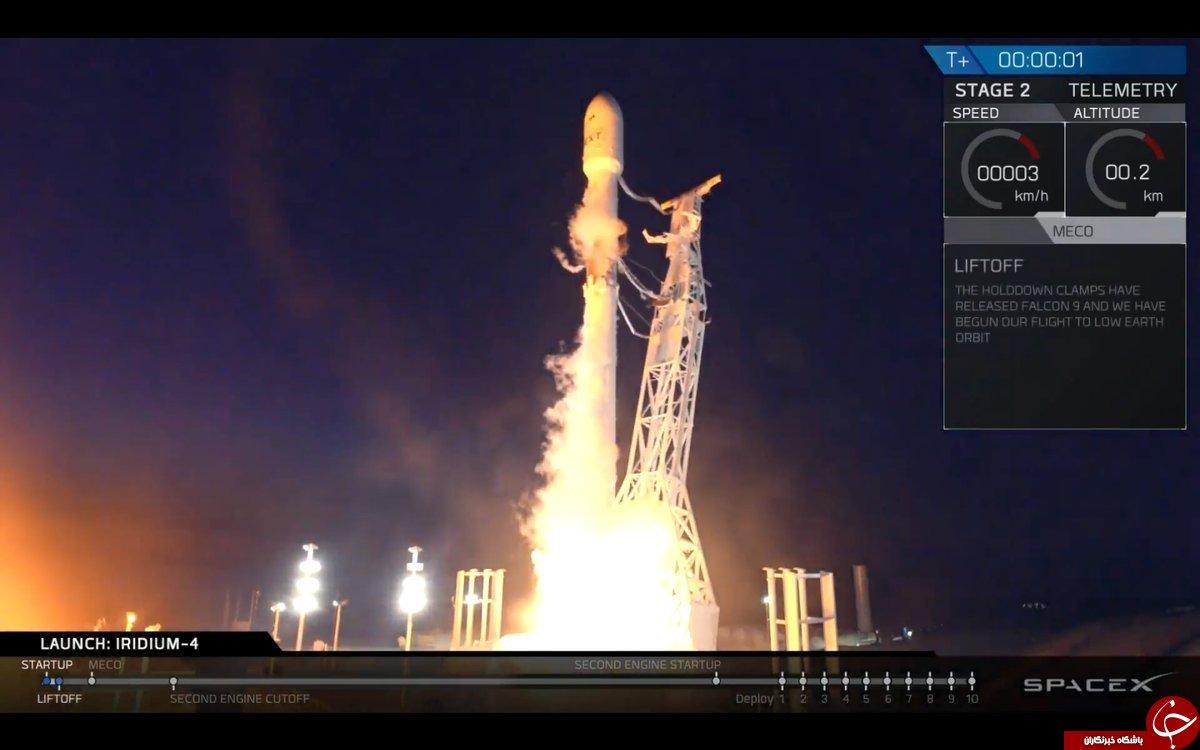 پرتاب فضاپیما توسط اسپیس ایکس باعث تعجب مردم شد +تصاویر