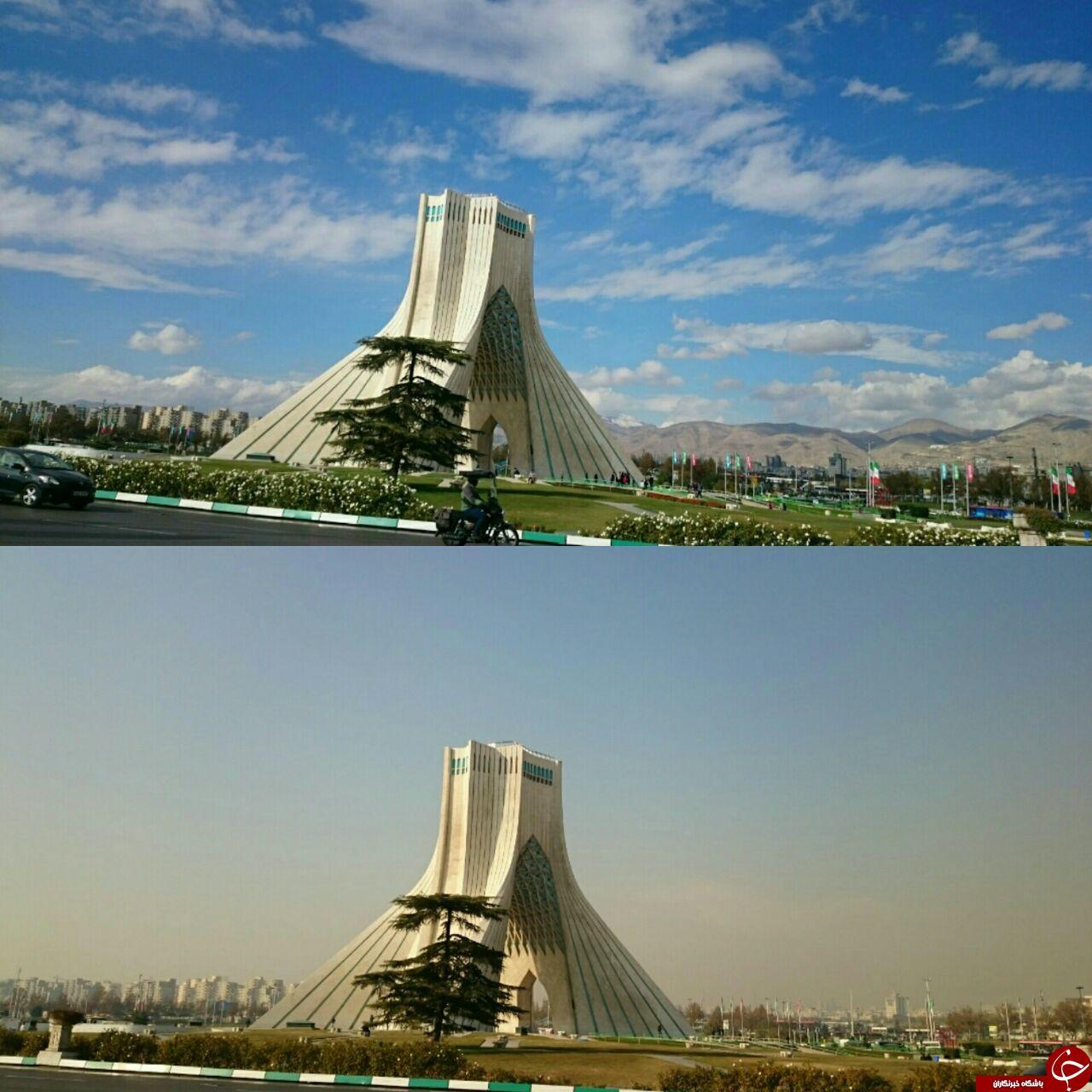 دو تصویر از یک زاویه اما متفاوت + عکس