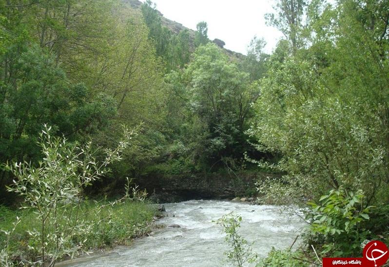 تصاویر زیبا از روستای آغشت در استان البرز