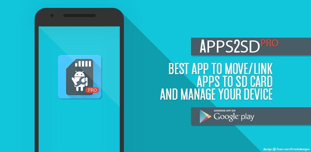 دانلود App2SD PRO 13.4 برای اندروید؛ رهایی از پیام کمبود حافظه در گوشی