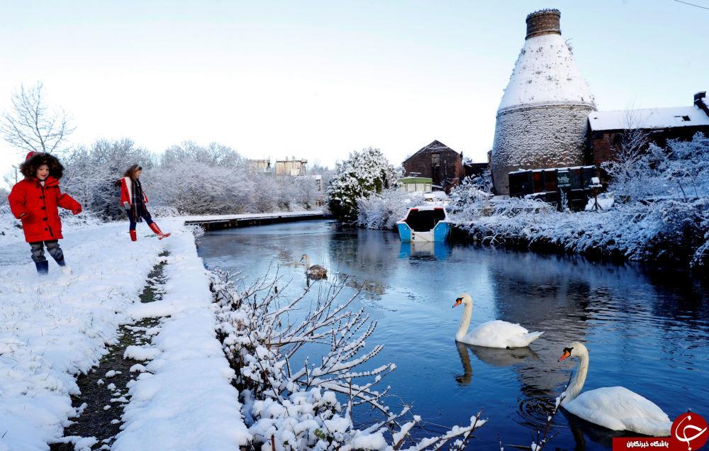 تصاویری جالب و دیدنی از زمستان در کشورهای مختلف دنیا