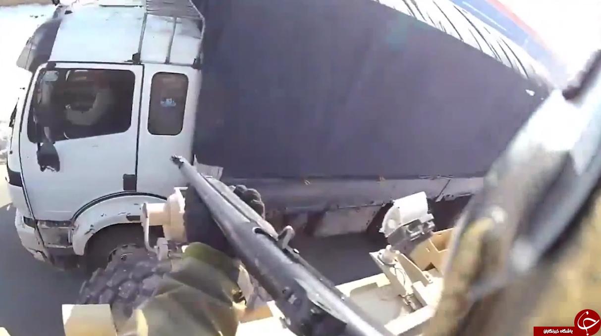 شلیک سرباز آمریکایی به یک راننده کامیون در افغانستان + فیلم