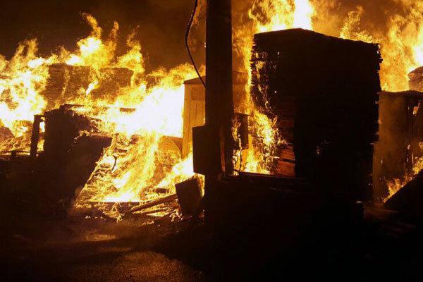 کشته شدن پنج نفر در آتش سوزی مکه