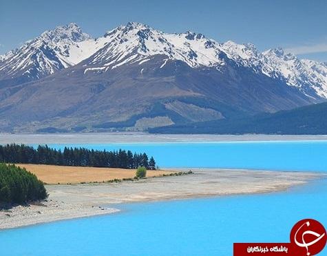 10 دریاچه رنگی جهان +تصاویر