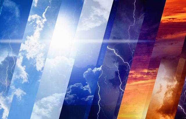 لیز خوردن کارشناس هواشناسی زن در پخش زنده+فیلم