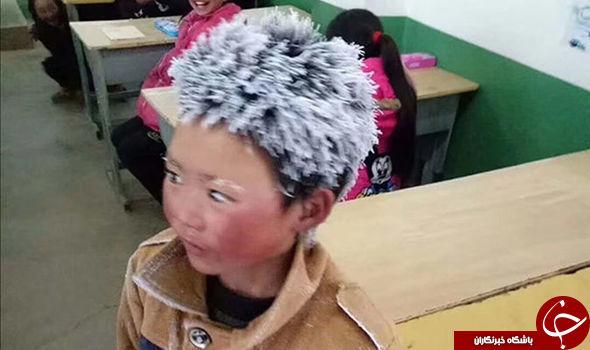 امتحانی که موهای پسر 10 ساله را یک شبه سفید کرد+تصاویر