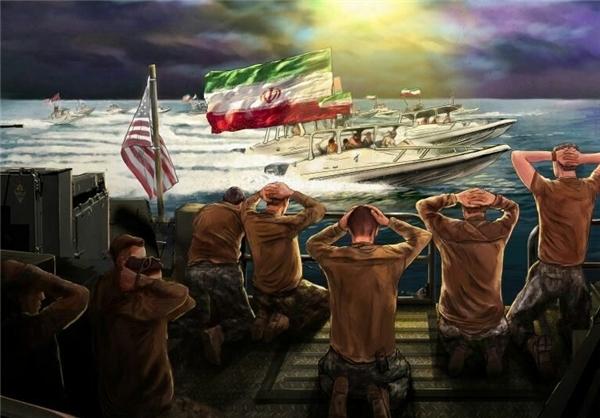 دریادار فدوی: مقتدرتر از قبل و از زمان دستگیری تفنگداران شیطان بزرگ -آمریکا- در حال انجام تکلیف هستیم