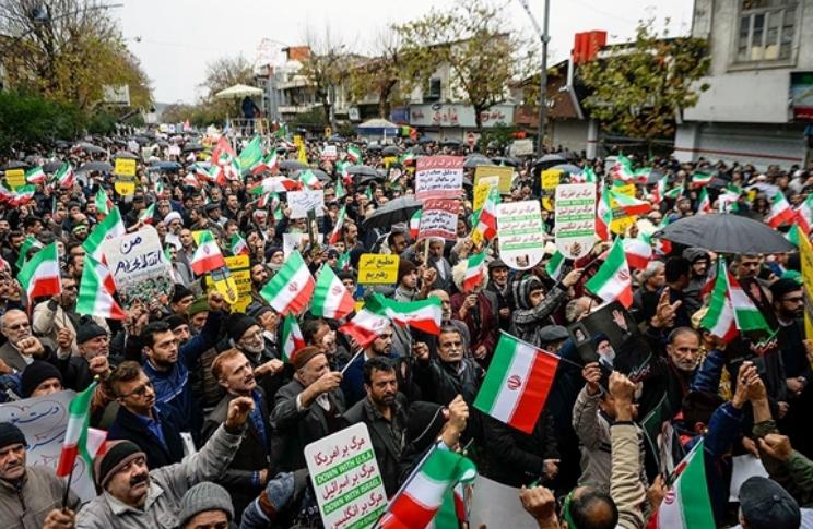 آگاهی مردم ایران باعث شکست توطئه آمریکا شدند/ ملت ایران فتنه را در نطفه خاموش کرد