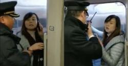 اقدام عجیب زن جوان در ایستگاه قطار سوژه رسانه ها شد + فیلم