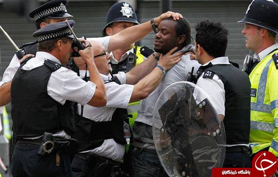 پیامرسان «بلَکبِری»  درخدمت  پلیس بریتانیا برای شناسایی آشوبگران +تصاویر
