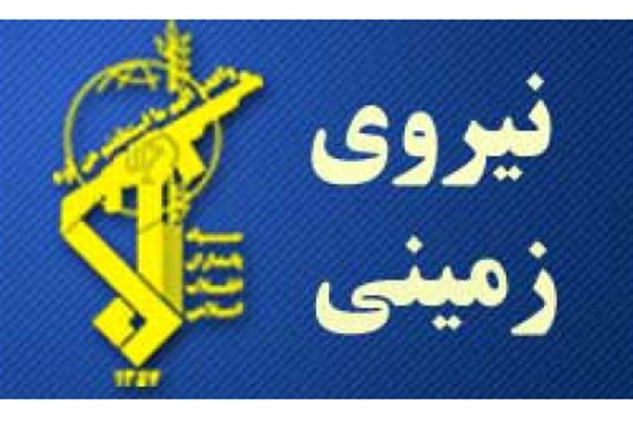 قرارگاه قدس سپاه اعلام کرد؛ کشف محموله مواد منفجره و کمربندهای انتحاری در منطقه سراوان