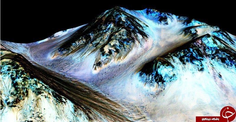 دانشمندان از وجود آب در مریخ خبر دادند+ عکس