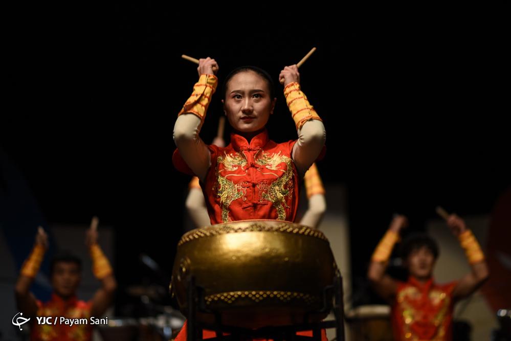 اجرای گروه خانه درام چین و گروه لیان در سی و سومین جشنواره موسیقی فجر