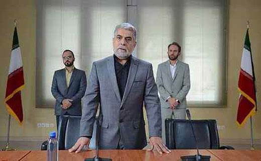 حذف الله از پرچم ایران در شبکه نمایش خانگی؟!