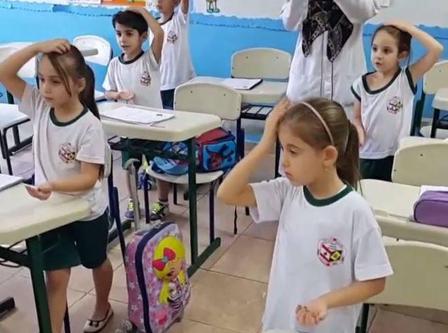 قرائت دعای فرج در یکی از مدارس برزیل + فیلم