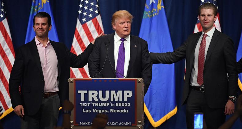 کارمندان کاخ سفید پسران ترامپ را «عدی» و «قصی» صدا میزنند!