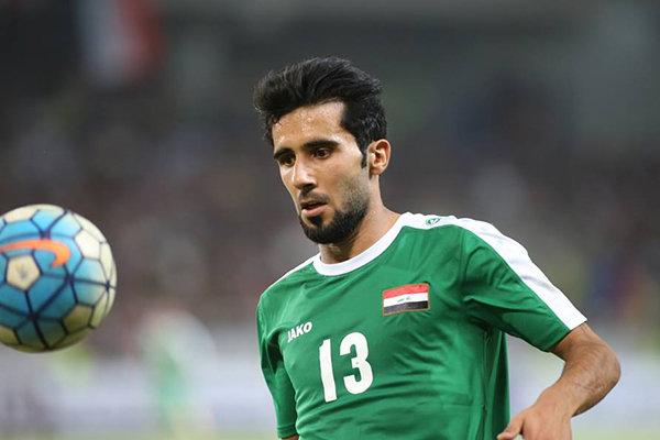 تساوی عراق و عربستان با حضور بازیکن پرسپولیس
