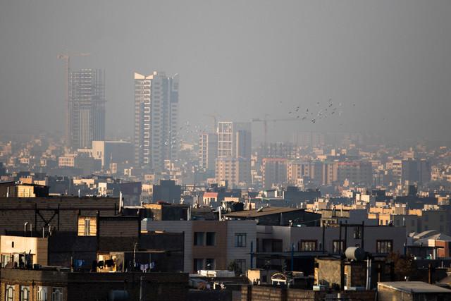 افزایش غلظت آلایندههای جوی در شهرهای بزرگ