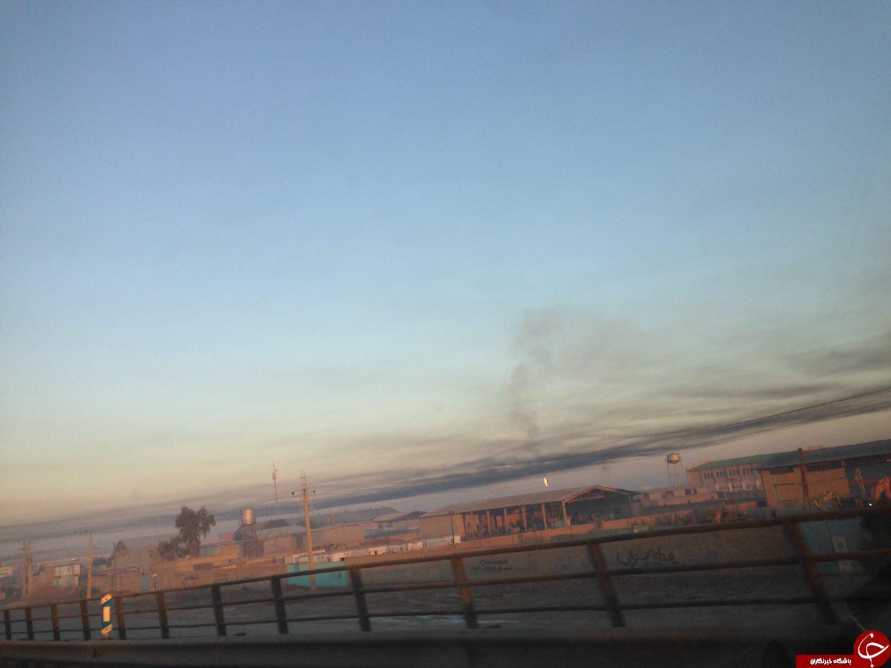 وضعیت وخیم آلودگی هوا در اهواز + تصاویر