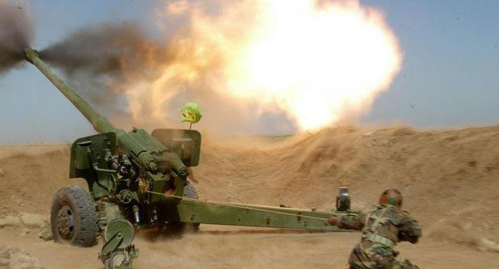 ارتش ترکیه به عفرین سوریه حمله توپخانهای کرد