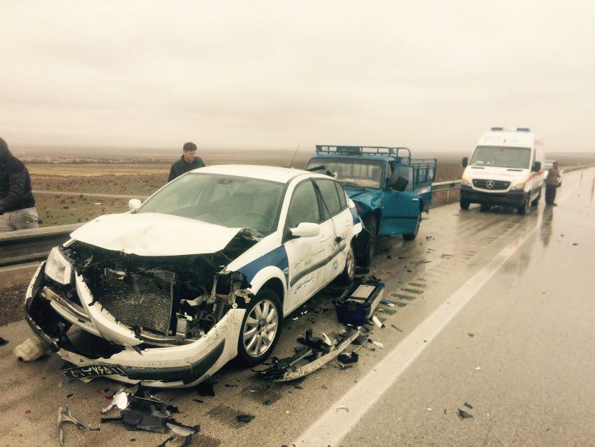سبقت در جاده مرگ / وقتی برای تصادف سبقت می گیریم