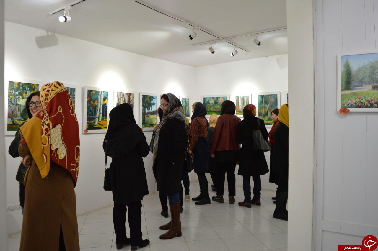 گشایش نمایشگاه گروهی نقاشی طبیعت در مشهد