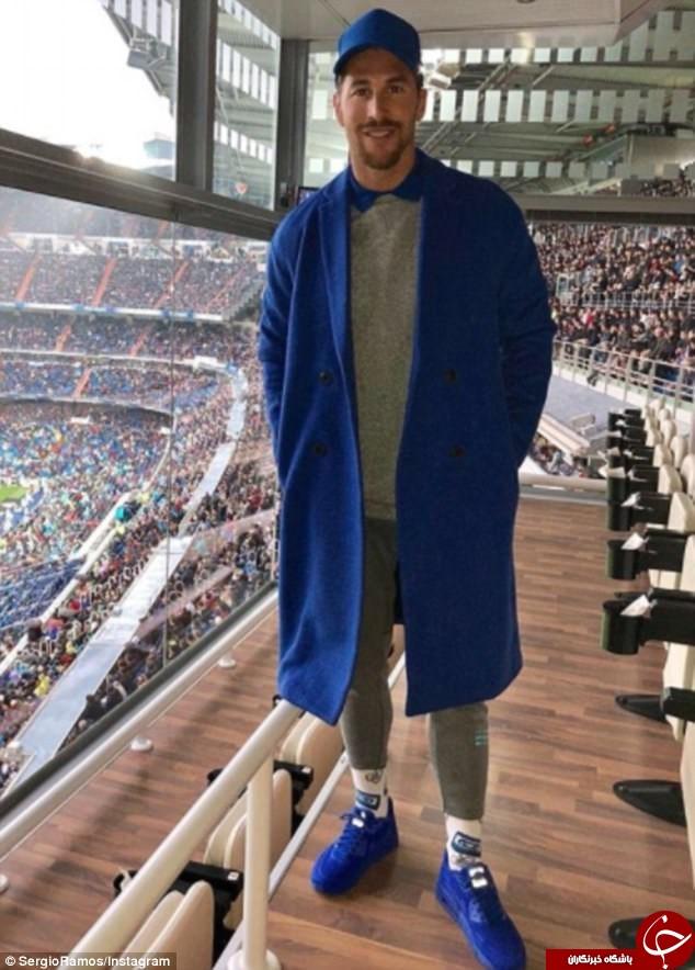 لباس عجیب کاپیتان کاپیتان لیگ برتری سوژه شد +عکس