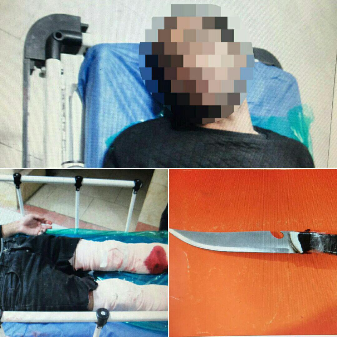 شلیک پلیس متهم سابقه دار را زمینگیر کرد+عکس