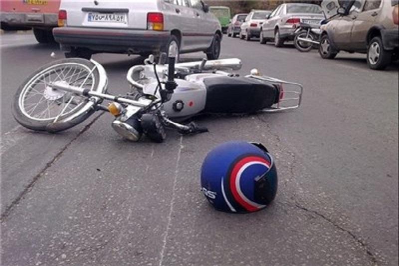 مرگ موتورسوار همدانی