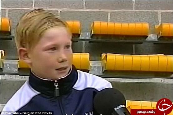 کودکی ستاره ای که می خواهد توپ طلای فوتبال دنیا را ببرد +تصاویر