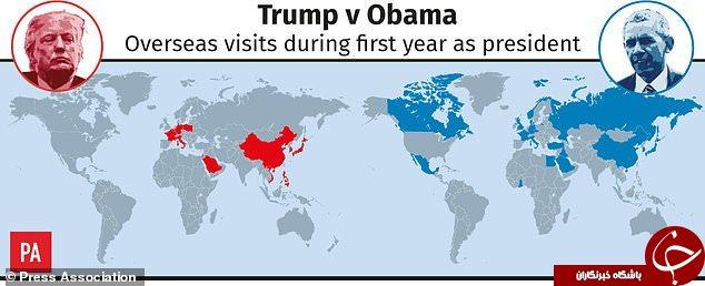 حضور یکساله ترامپ در کاخ سفید به روایت اعداد و ارقام+ نمودار