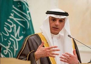 جبیر: آمریکا به ما اطمینان داد اجرای تصمیمش درباره قدس سبب ناراحتی نظامهای عربی نمیشود!