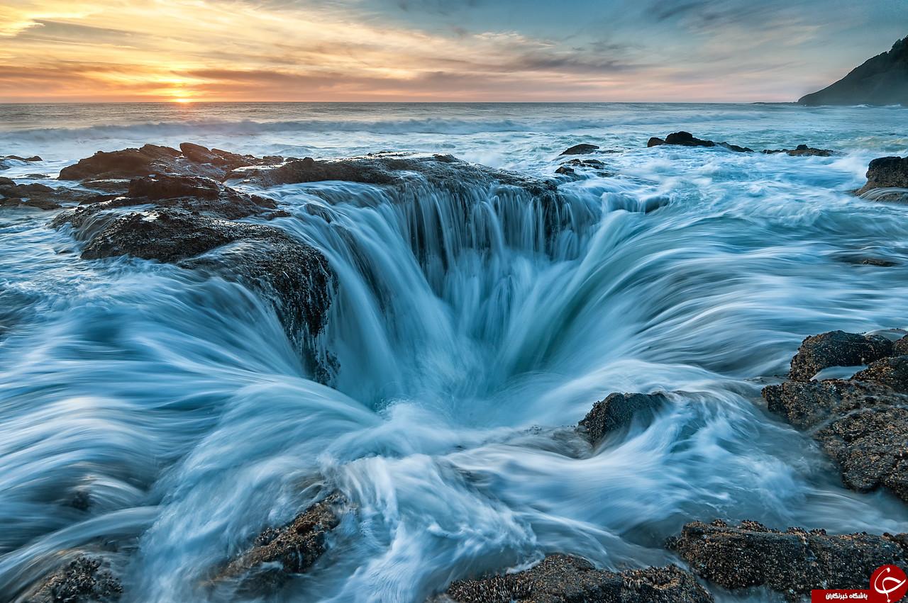 نقطهای که آب اقیانوس آرام را میبلعد!