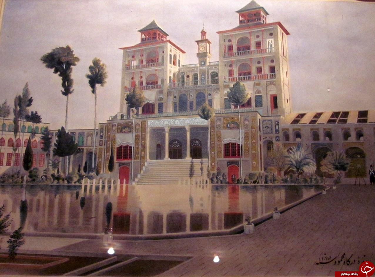 تهران دو قرن پیش را در این نقاشیها ببینید + تصاویر