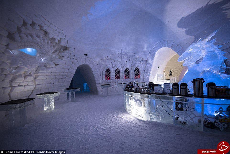 تجربه شگفت انگیز اقامت در هتل یخی در لاپلند