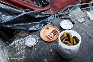 بازرسی تعزیرات از اغذیه فروشی های میدان انقلاب