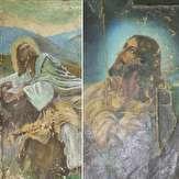 باشگاه خبرنگاران - مرمت تابلوهای نقاشی شمایل حضرت مسیح در موزه بزرگ خراسان