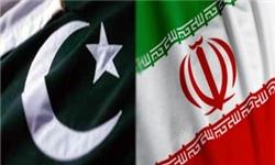 ورود وزیر تولیدات دفاعی، علوم و فناوری پاکستان به تهران