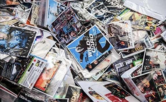 باشگاه خبرنگاران -كشف بيش از 60 هزار سی دی غير مجاز در رشت