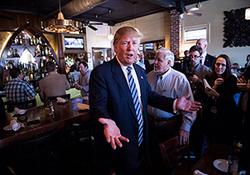 چرا ترامپ در رستورانهای عمومی غذا میخورد؟! + فیلم