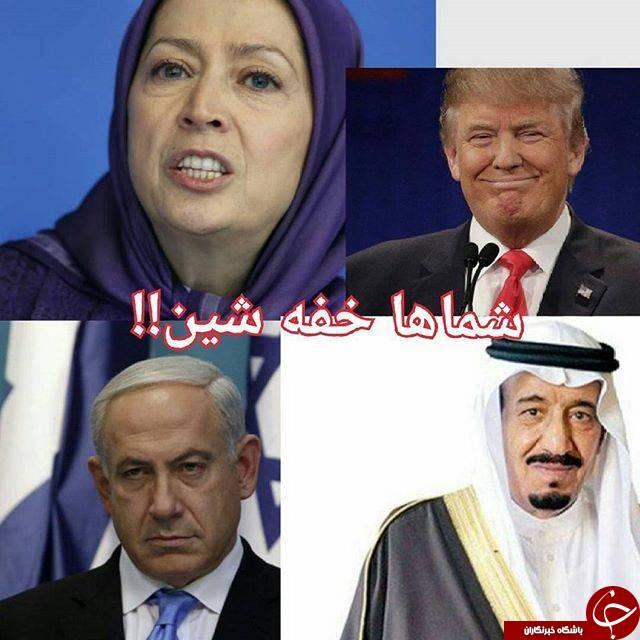 نقش هستههای وابسته به سازمان منافقین در آشوبهای اخیر / آتشزدن پرچم برای گرفتن «دستخوش» از آلسعود! + تصاویر