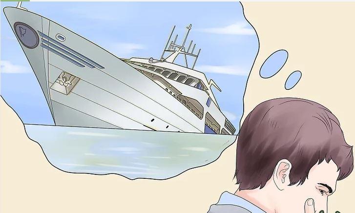 راهکار های نجات از کشتی درحال غرق شدن+ تصاویر