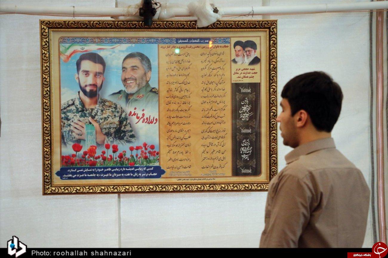 تصاویری از حال و هوای این روزهای آرامگاه شهید حججی