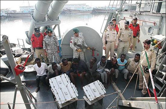 تپش دل دریادلان کلاه سبز برای دریانوردان سانچی
