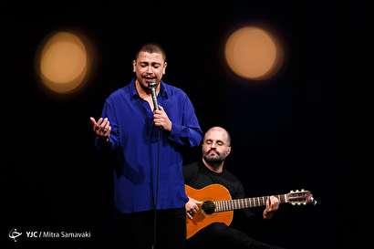 باشگاه خبرنگاران -اجرای ریکاردو ریبرو در سی و سومین جشنواره موسیقی فجر