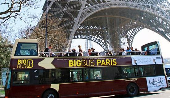 آتش سوزی ترسناک اتوبوس در پاریس