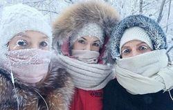زندگی در سردترین نقطه جهان با دمای ۶۲ درجه زیر صفر!+ تصاویر